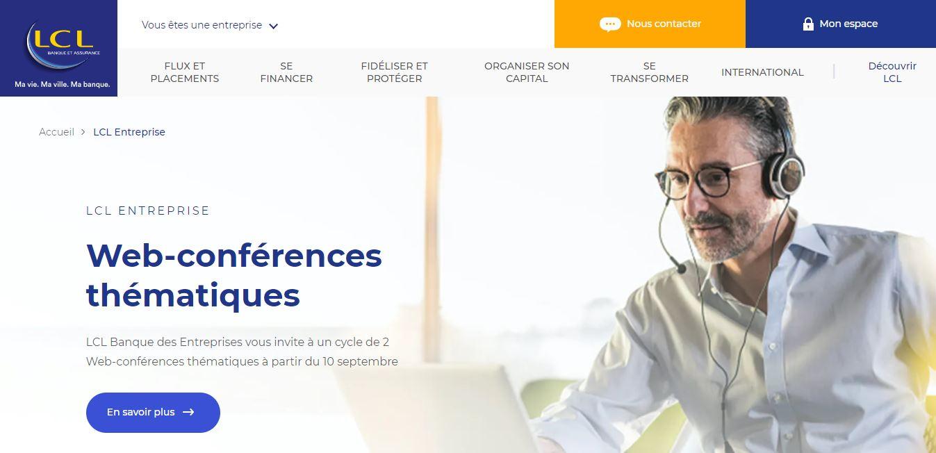 LCL Pro : Avis détaillé sur la banque pour les professionnels